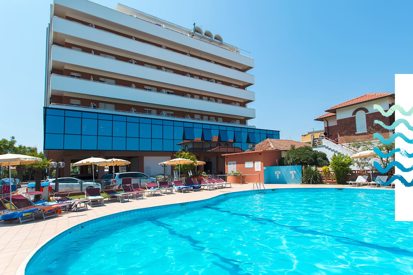 Pollini hotels cesenatico villamarina di cesenatico - Hotel gatteo mare con piscina ...